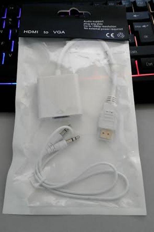 Cáp HDMI ra VGA có Jack Audio